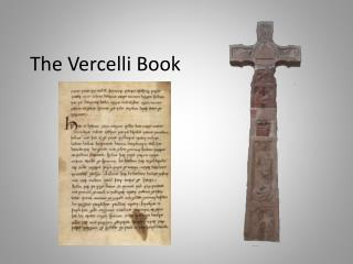 The Vercelli Book