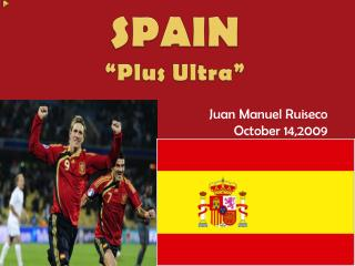 "SPAIN ""Plus Ultra"""