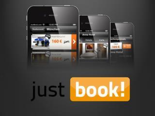 … was ist Justbook ? Eine  App  für  last-minute  Hotelbuchungen