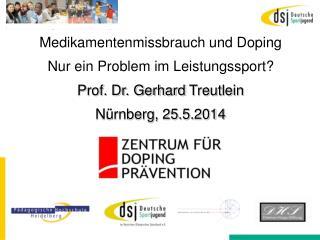 Medikamentenmissbrauch und  Doping  Nur ein Problem im Leistungssport?