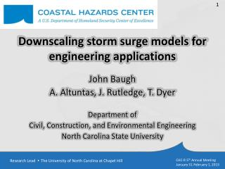 Downscaling storm surge models for engineering applications