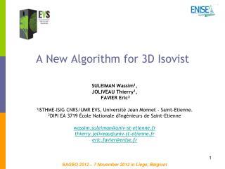 A New Algorithm for 3D Isovist