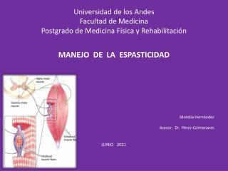 Universidad de los Andes Facultad de Medicina Postgrado de Medicina Física y Rehabilitación