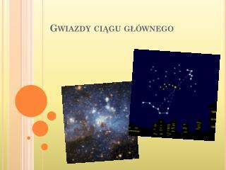 Gwiazdy ci?gu g?�wnego