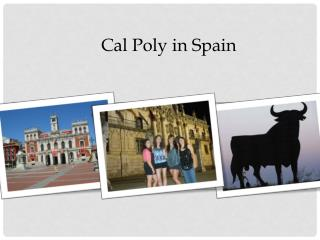 Cal Poly in  Spain