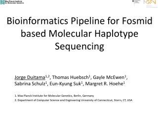 Bioinformatics Pipeline for Fosmid based Molecular Haplotype Sequencing