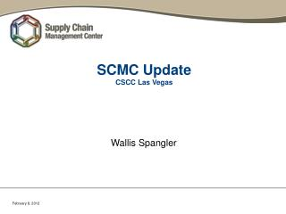 SCMC Update CSCC Las Vegas