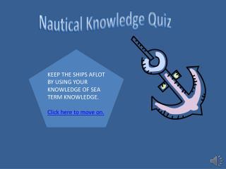 Nautical Knowledge Quiz