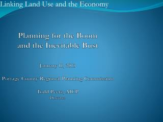 Linking Land Use and the Economy