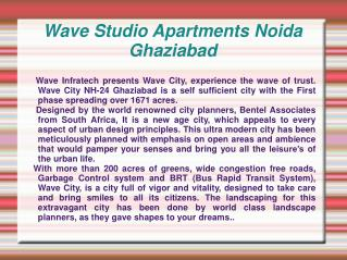 Wave Studio Apartments,Wave City Studio Appt,Wave Studio Apa