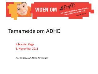 Temamøde om ADHD