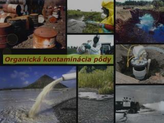 Organická kontaminácia pôdy