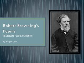 Robert Browning's Poems