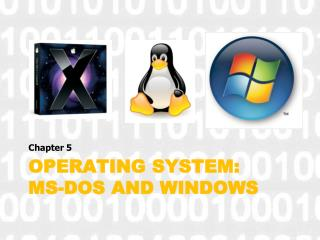 Operating System: MS-DOS and Windows