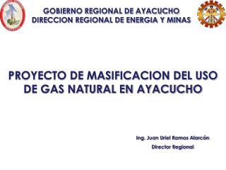 GOBIERNO REGIONAL DE AYACUCHO DIRECCION REGIONAL DE ENERGIA Y MINAS