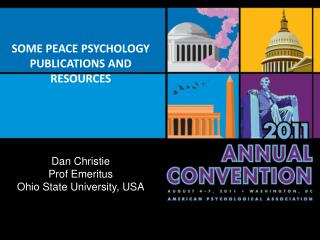 SOME PEACE PSYCHOLOGY PUBLICATIONS AND RESOURCES