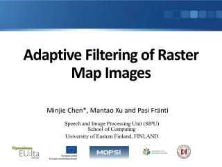 Adaptive Filtering of Raster Map Images