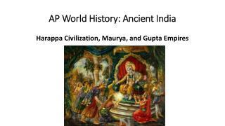AP World History: Ancient India