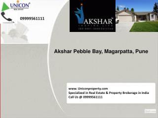 Akshar Pebble Bay Pune @ 09999561111 - Akshar Project Pune