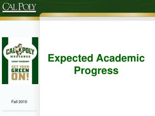 Expected Academic Progress