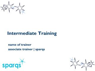Intermediate Training