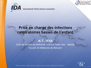 Prise en charge des infections respiratoires basses de l enfant