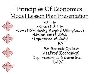 Principles Of Economics Model Lesson Plan Presentation