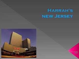 Harrah's new Jersey