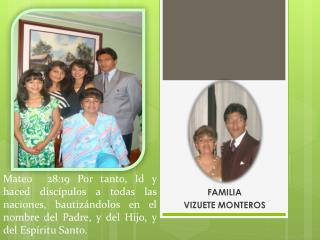 FAMILIA  VIZUETE MONTEROS