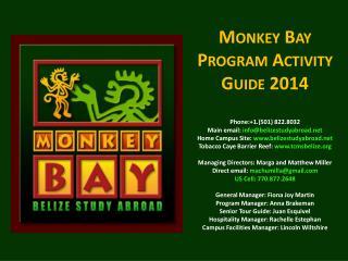About Monkey Bay