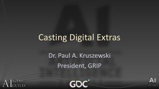 Casting Digital Extras