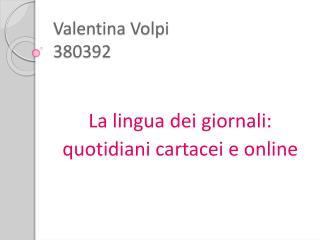 Valentina Volpi 380392