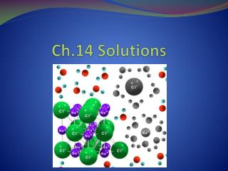 Ch.14 Solutions