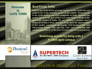 Supertech Cape Town Call @ Toll Free-1800-103-4500