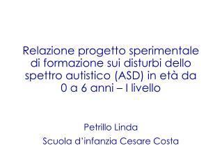 Petrillo Linda Scuola d'infanzia Cesare Costa