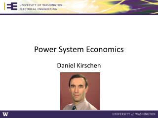 Power System Economics
