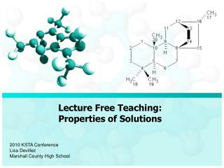 Lecture Free Teaching: Properties of Solutions