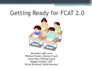 Getting Ready for FCAT 2.0