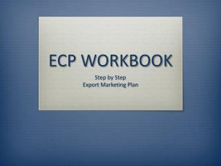 ECP WORKBOOK