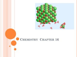 Chemistry  Chapter 16