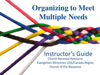Organizing to Meet  Multiple Needs