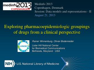 Exploring  pharmacoepidemiologic groupings of  drugs from a clinical perspective
