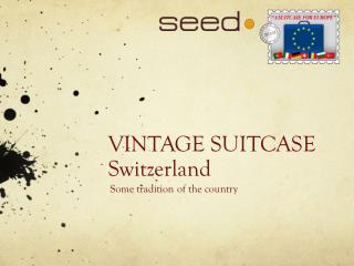 VINTAGE SUITCASE Switzerland