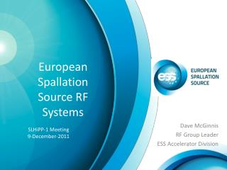 European Spallation Source  RF Systems