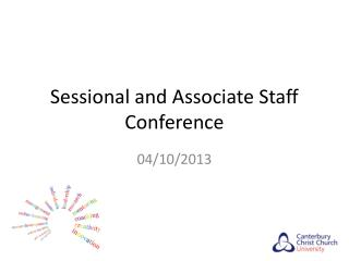Sessional and Associate Staff Conference