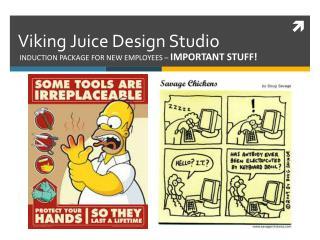 Viking Juice Design Studio