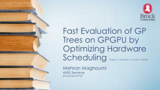 Mehran Maghoumi 4V82 Seminar (November 2012)