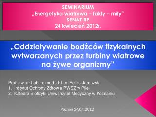Poznań  24.04.2012