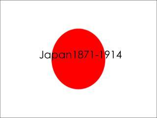 Japan 1870-1914