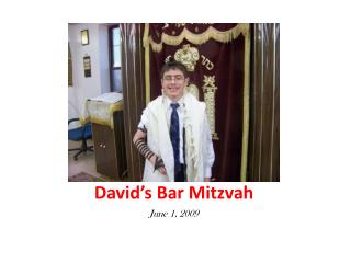 David�s Bar Mitzvah